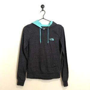 Charcoal North Face hoodie